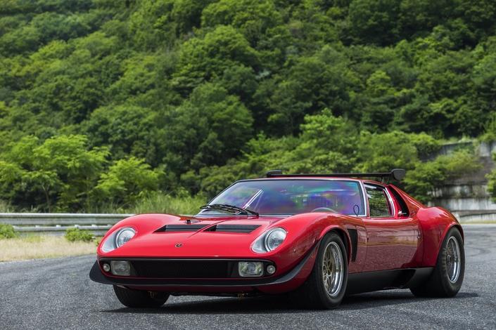 Lamborghini : restauration officielle pour cette Miura SVR