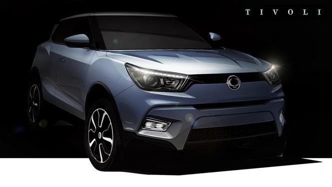 Ssangyong annonce la sortie du SUV Tivoli