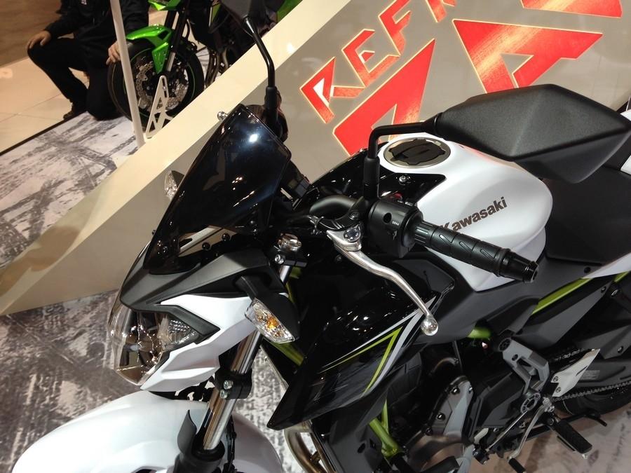 En direct d'Eicma 2016 : Kawasaki Z 650