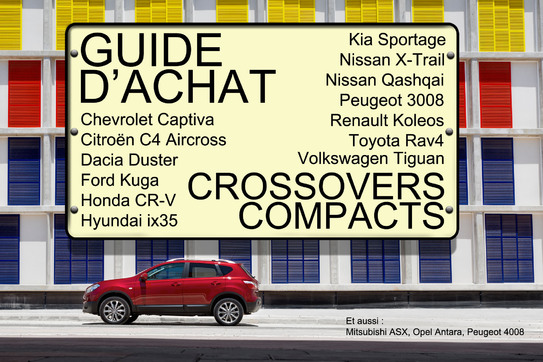 Guide d'achat : crossovers compacts