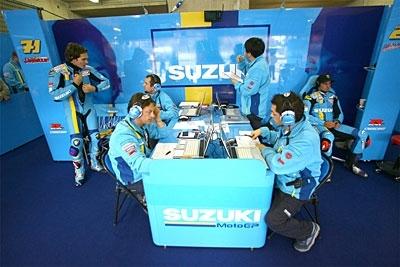 Moto GP: Suzuki, paré pour la saison 2008