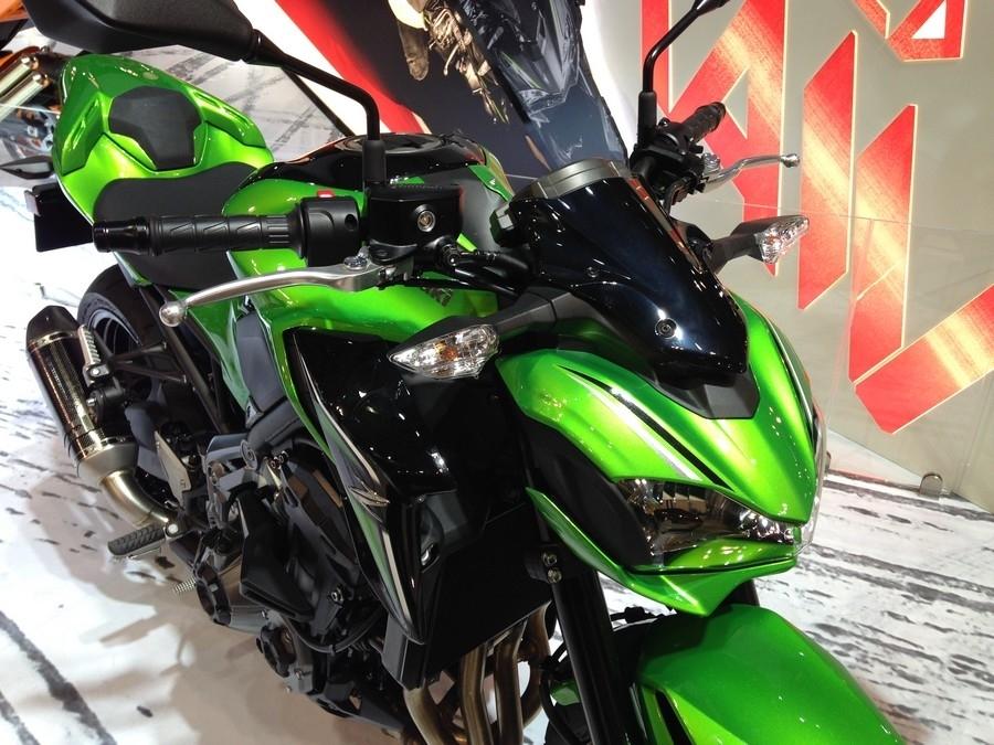 En direct d'Eicma 2016 : Kawasaki Z 900