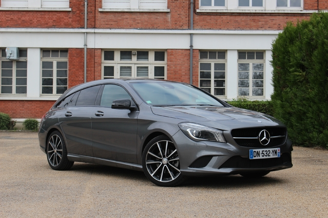 essai mercedes cla shooting brake 220 cdi un shoot 1 000 balles. Black Bedroom Furniture Sets. Home Design Ideas