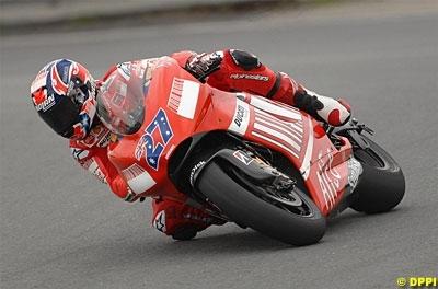 Moto GP: République Tchèque D.2: Stoner impressionne, les Français confirment