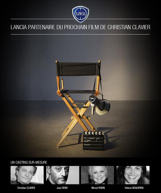 """Lancia en haut de l'affiche d'""""On ne choisit pas sa famille"""""""