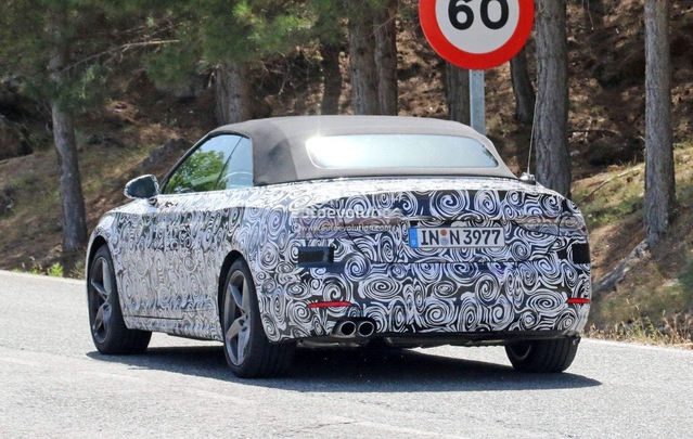 Scoop : l'Audi A5 Cabriolet de sortie
