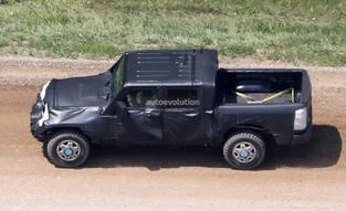 Surprise :le pick-up Jeep Wrangler se montre pour la première fois
