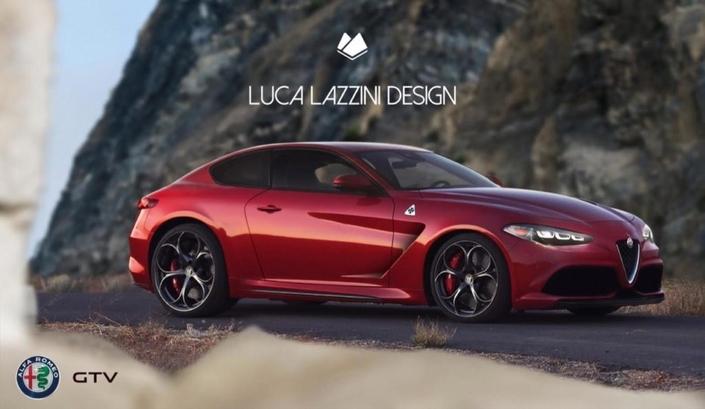 Alfa Romeo: une délicieuse idée de la future GTV