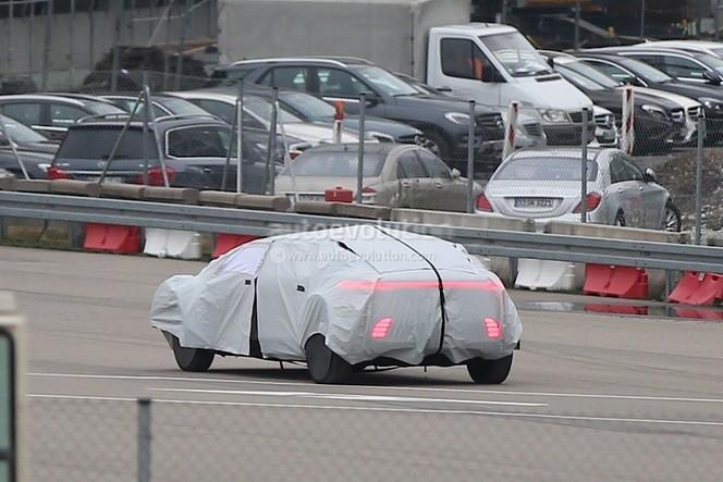 Le mystérieux concept Mercedes se montre encore