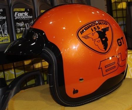 JPMS 2012, comme si vous y étiez: Bultaco fait des casques