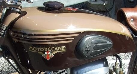 125 Motobécane 4 temps 1954 entièrement restaurée