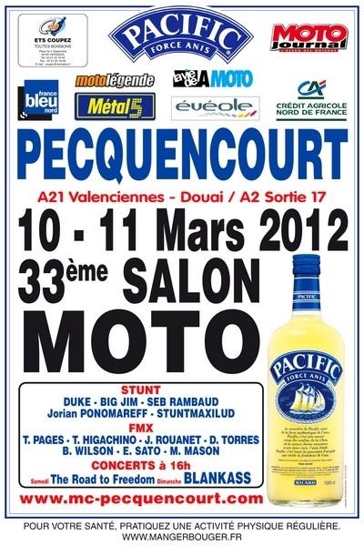33ème Salon de Pecquencourt les 10 et 11 mars 2012.