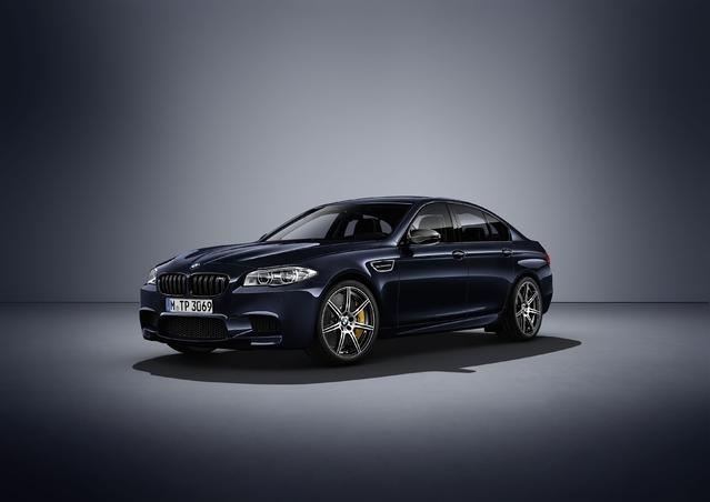 """BMW : une """"edition competition"""" pour clore la carrière de l'actuelle M5"""
