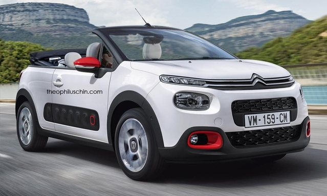 Design : un graphiste imagine une Citroën C3 Pluriel moderne