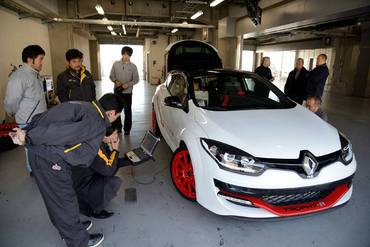 La Renault Mégane R.S 275 Trophy-R bat le record du Fuji International Speedway