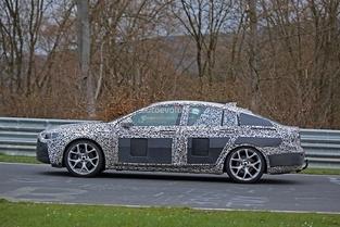 Scoop : l'Opel Insignia à l'épreuve du Nürburgring