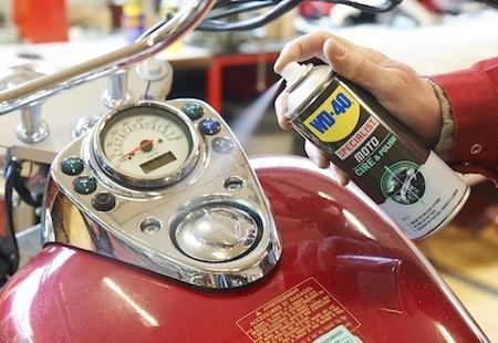 WD-40 spécialist Moto: Cire&Polish