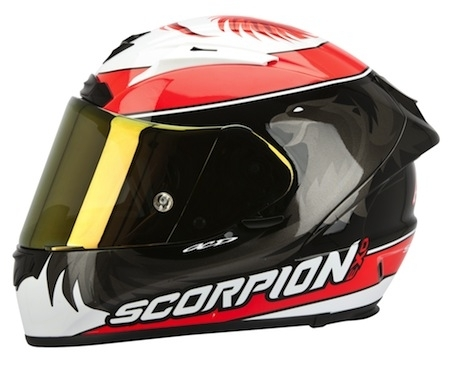 "Scorpion Exo-2000 EVO Air Masbou en version ""Limited"""