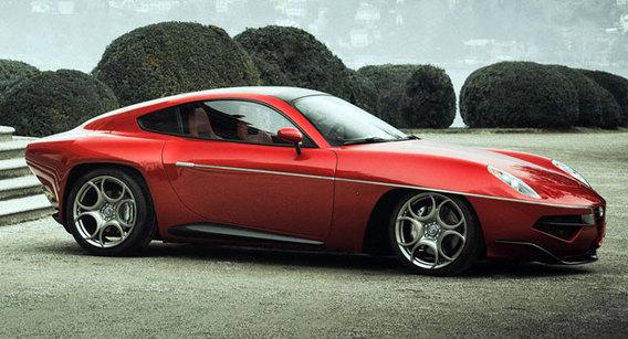 L'Alfa Romeo Touring Superleggera Disco Volante bientôt produite