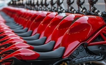Ducati: c'est 45 100 motos vendues en 2014... une année record