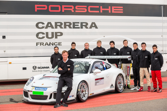 Jules Gounon sacré espoir Porsche Carrera Cup France 2015