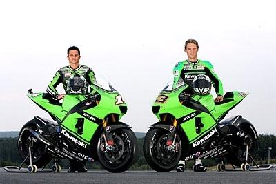 Moto GP 2008: Kawasaki: Ca se jouera entre De Puniet et West