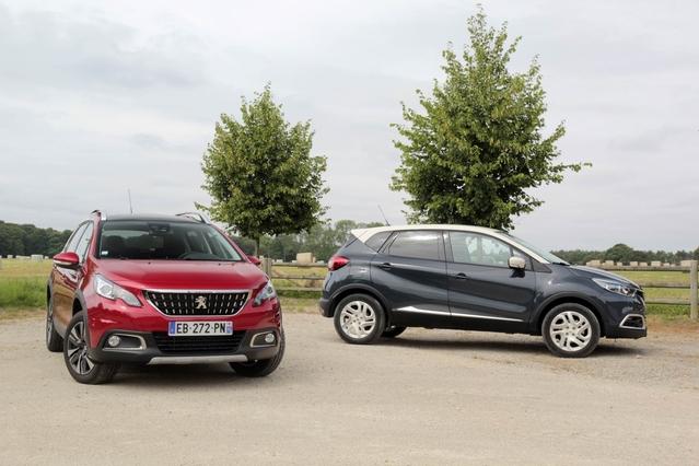 Comparatif vidéo - Renault Captur vs Peugeot 2008 : duel au sommet