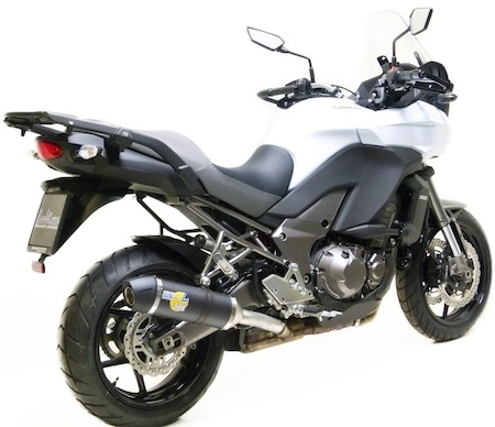 Leo Vince: silencieux SBK LV One pour Kawasaki Versys 1000