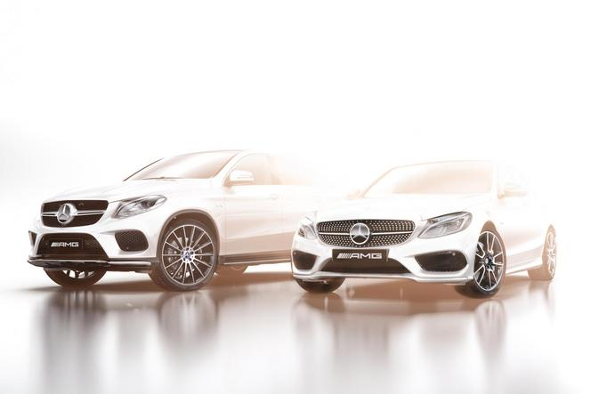 Mercedes lance des modèles AMG Sport