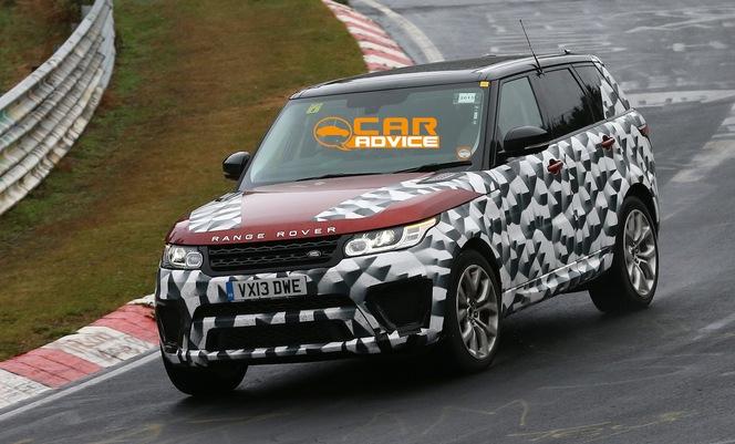 """Surprise : le Range Rover Sport """"R-S"""" sur le Ring"""