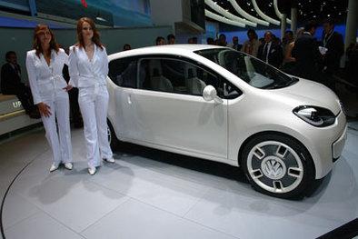 Direct Francfort VW Up!: virginale ?