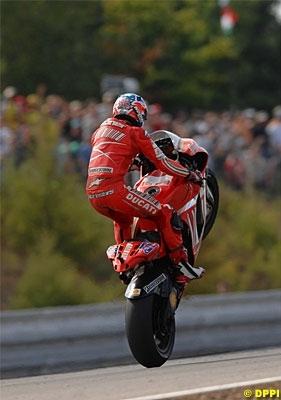 Moto GP: Brno Test D.2: Et un record pour Stoner !