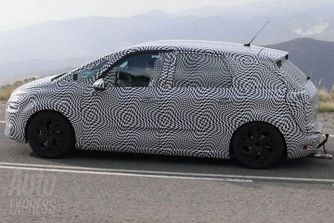 Surprise : le futur Citroën C4 Picasso