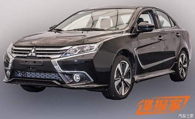 Surprise : Mitsubishi prépare un restylage pour la Lancer en Chine