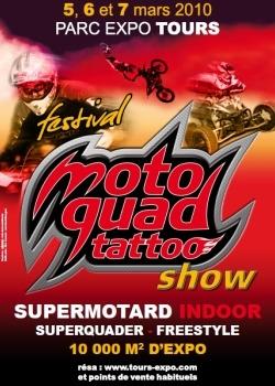 Salon - Du 5 au 7 mars: Un Moto Quad Tattoo Show à Tours qui mérite un détours