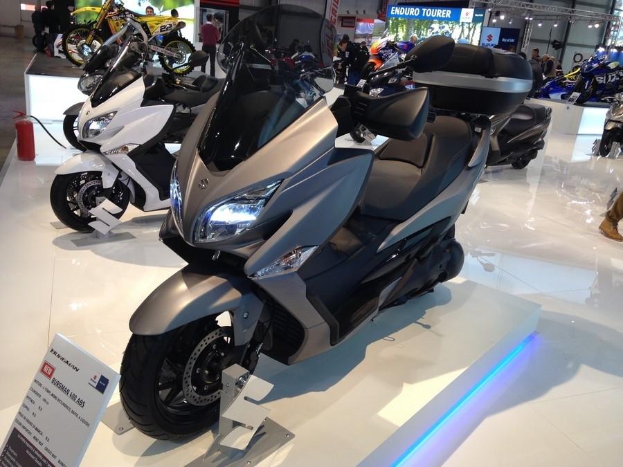 En direct d'Eicma 2016 : Suzuki Burgman 400