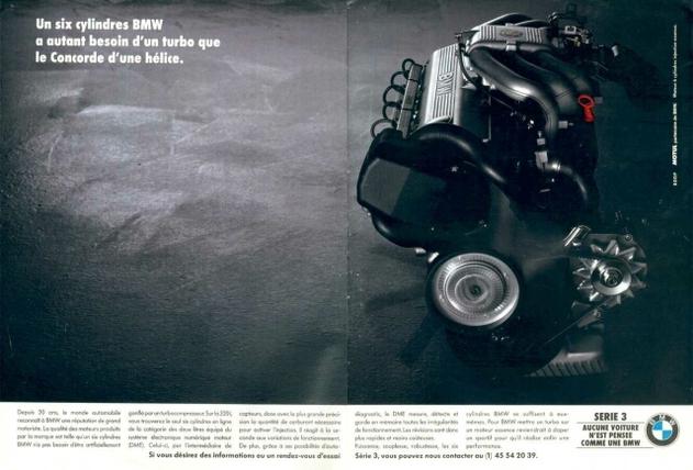 un 6 cylindres BMW a autant besoin d'un turbo que le Concorde d'une hélice