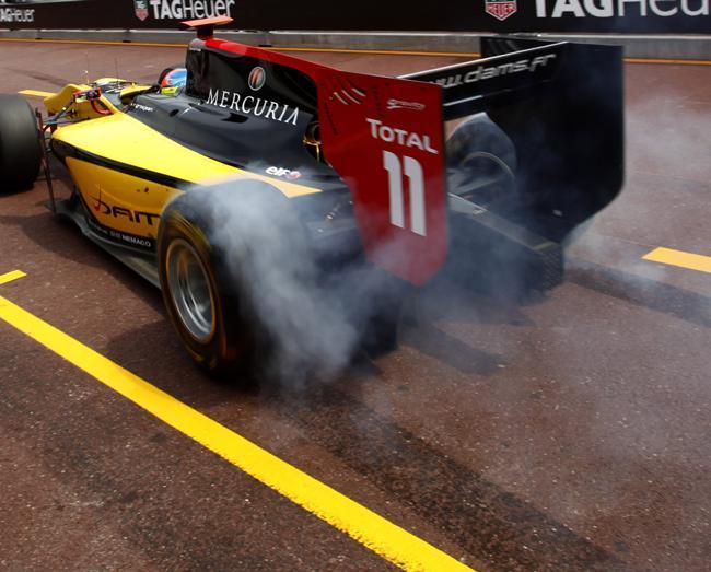 GP2 Monaco Course 2 : Pic de bout en bout, Grosjean sur le podium