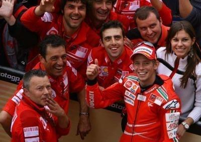 Moto GP - Italie: Stoner, le surdoué de la famille Ducati