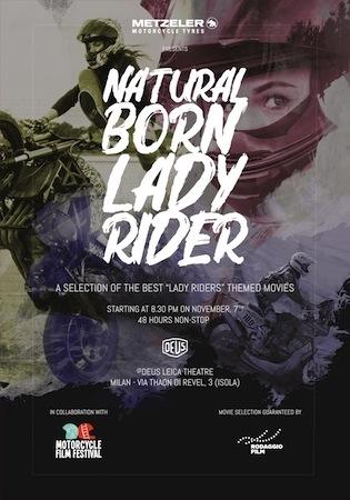 Metzeler, Natural Born Lady Rider : une campagne dédiée aux femmes et à la moto