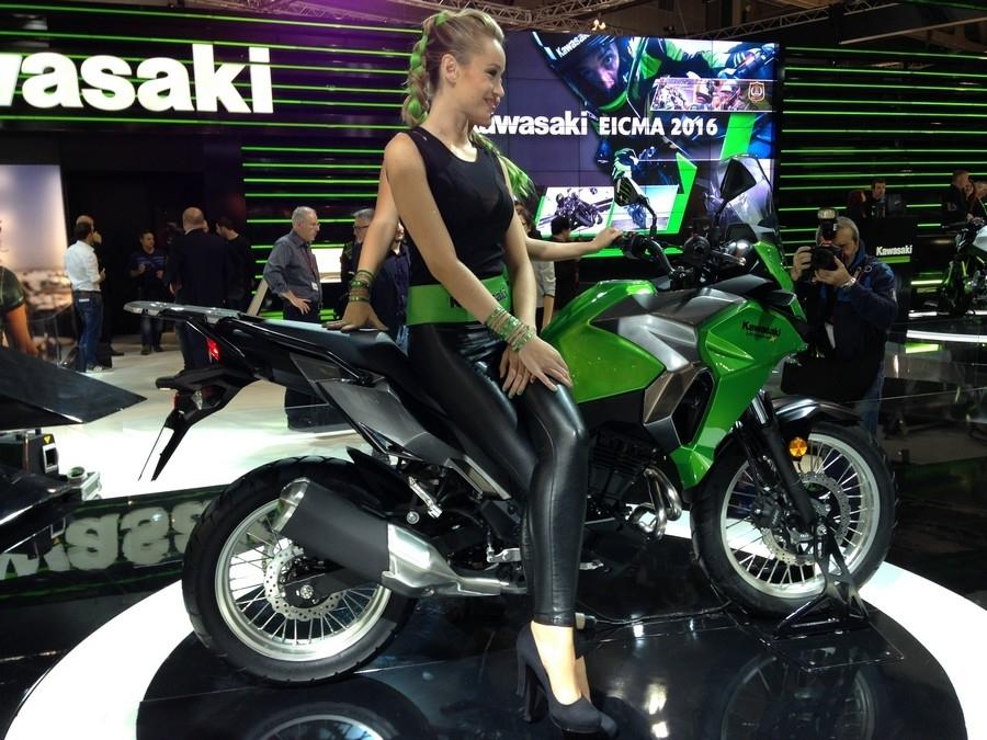 En direct d'Eicma 2016 : Kawasaki Versys X 300