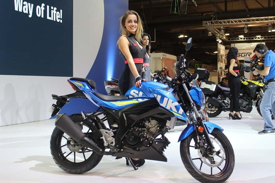 En direct d'Eicma 2016 : Suzuki GSX-S 125 ABS