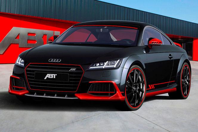 Essen 2014 : 310 ch pour l'Audi TT revu par Abt