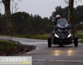 Essai Can Am Spyder RT: le monde du confort.
