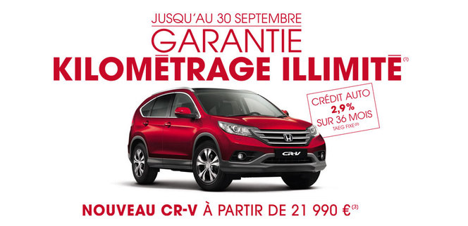 Honda France retouche son tarif et son catalogue...