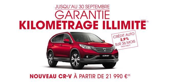Honda France retouche son tarif et son catalogue...