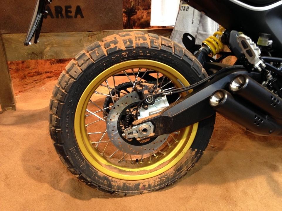 En direct de l'Eicma : Ducati Scrambler Desert Sled