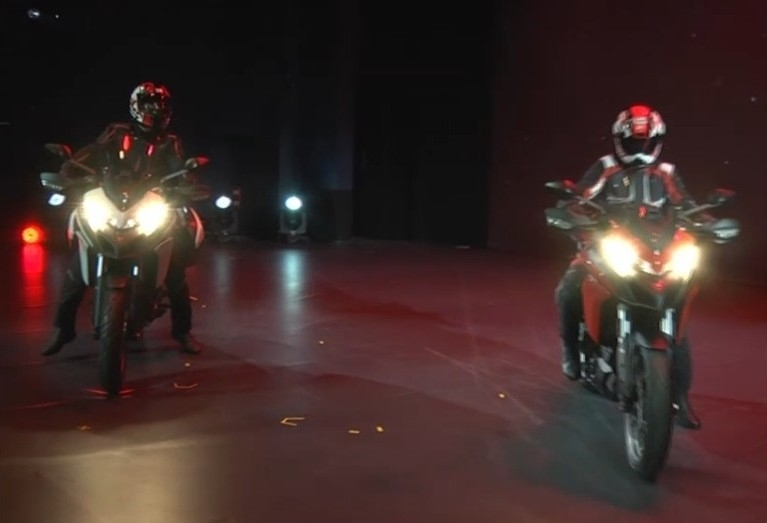 En direct d'Eicma 2016 : Ducati Multistrada 950