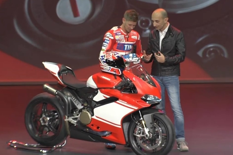 En direct d'Eicma 2016 : Ducati 1299 Superleggera