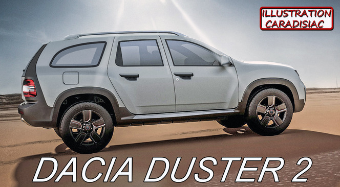 nouveau dacia duster il arrive fin 2016. Black Bedroom Furniture Sets. Home Design Ideas